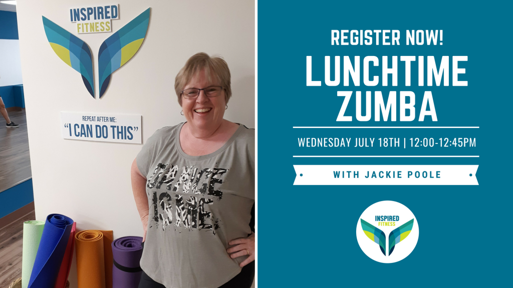 Lunchtime Zumba with Jackie Poole